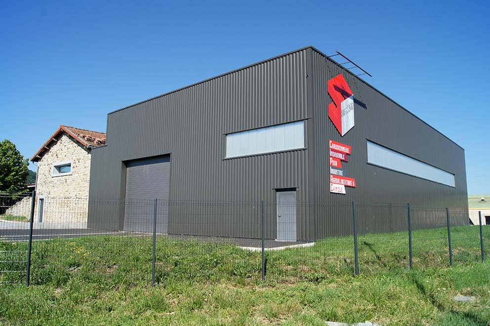 Bâtiment chaudronnerie Stefanovic
