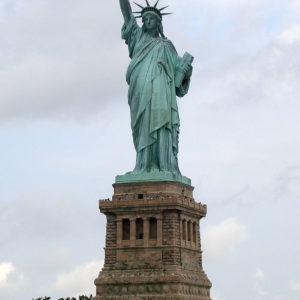 Statue de la liberté en cuivre