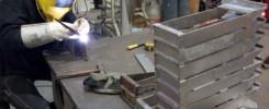 Réparation de paniers en titane