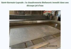 Publication presse la commère43 Saint Germain Laprade